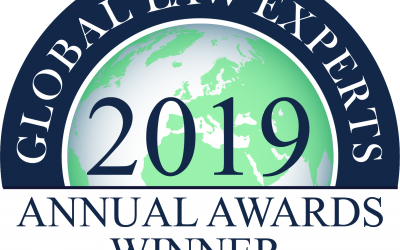 Lux Mediation WIN 2019 Global Law Experts Award!